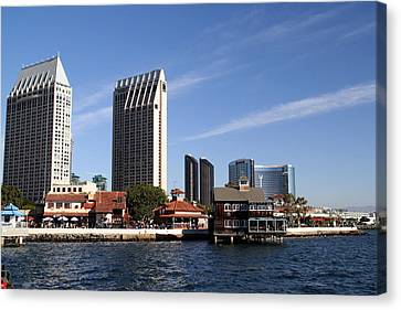 Canvas Print featuring the photograph San Diego by Christopher Woods