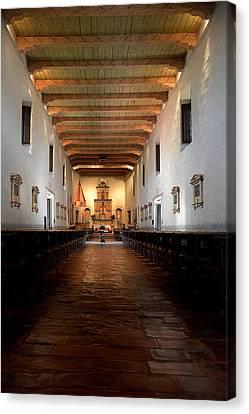 Worship Canvas Print - San Diego De Alcala by Christine Till