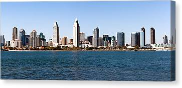 San Diego Panorama Canvas Print