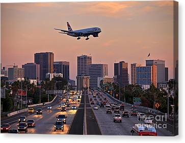 San Diego Rush Hour  Canvas Print by Sam Antonio Photography