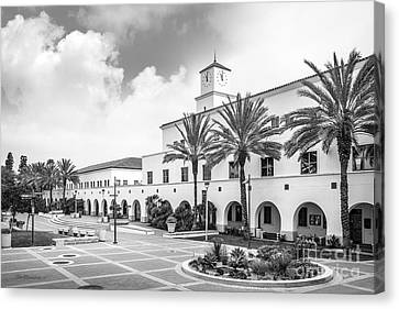 San Diego State University Student Services Building Canvas Print by University Icons