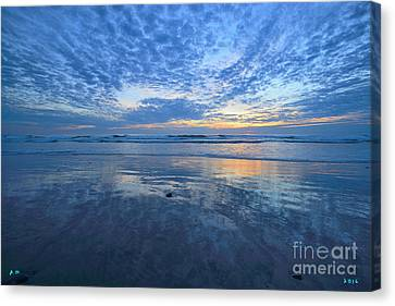 Blue Heaven Cardiff By The Sea Canvas Print