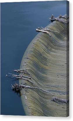 San Felicia Dam - Lake Piru Canvas Print by Soli Deo Gloria Wilderness And Wildlife Photography