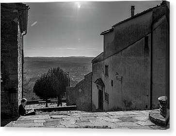 San Francesco Monastery - Fiesole, Italia. Canvas Print