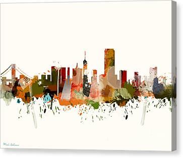 Citi Canvas Print - San Francisco 2 by Mark Ashkenazi