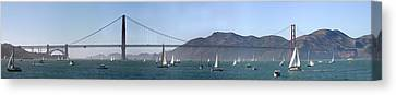 San Francisco Bay Canvas Print by Gary Lobdell