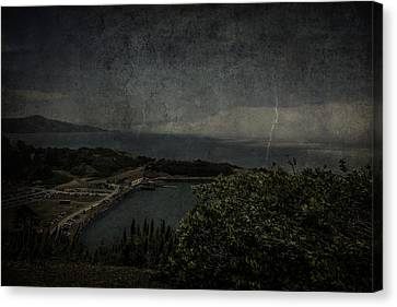Canvas Print featuring the photograph San Francisco Bay by Ryan Photography