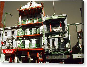 San Francisco Chinatown - Highlight Canvas Print by Art America Gallery Peter Potter