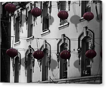 San Francisco Chinatown Canvas Print by Larry Butterworth