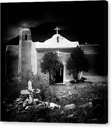 San Francisco Church In New Mexico Canvas Print
