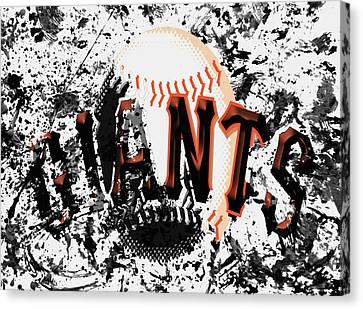 San Francisco Giants 6a Canvas Print