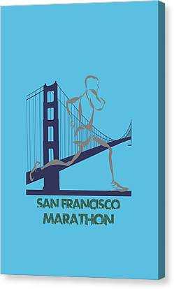 San Francisco Marathon2 Canvas Print by Joe Hamilton