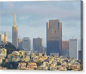 San Francisco Skyline Canvas Print by Connor Beekman