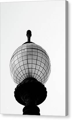 Lamp Post Canvas Print - San Francisco Street Light- By Linda Woods by Linda Woods