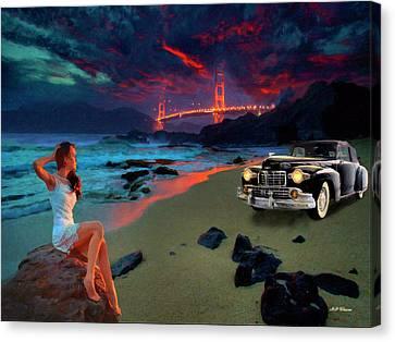 San Francisco Sunrise Canvas Print