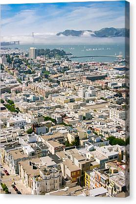 San Francisco Vista Canvas Print