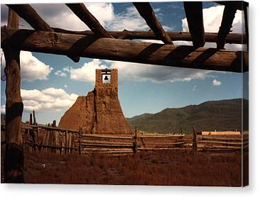 San Geronimo Church Ruins Canvas Print by Kathleen Stephens