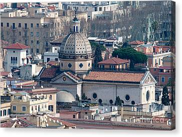 San Gioacchino In Prati Canvas Print by Andy Smy