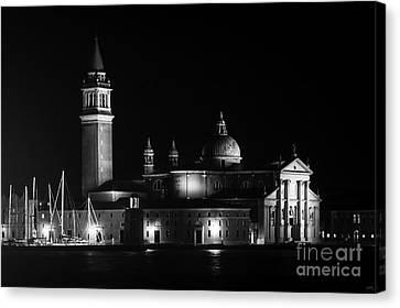 San Giorgio Maggiore At Night   Canvas Print