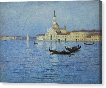 San Giorgio Maggiore Canvas Print by Helen Allingham