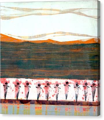 San Ildefonso Pueblo Canvas Print by Jorge Luis Bernal