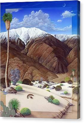 San Jacinto  Canvas Print