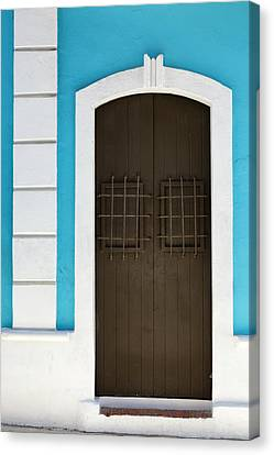 Canvas Print featuring the photograph San Juan Door by Patrick Downey