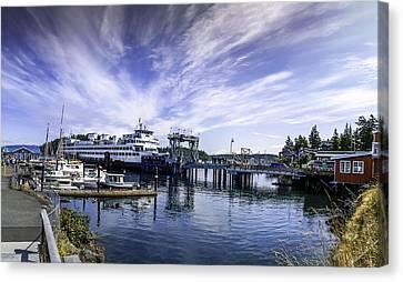 San Juan Island Ferry Canvas Print