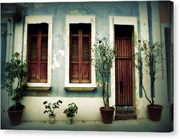San Juan Living 3 Canvas Print by Perry Webster