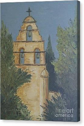 San Juan Mission Canvas Print
