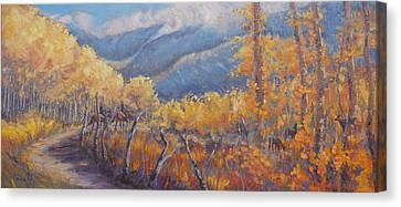 San Juan Mountain Gold Canvas Print