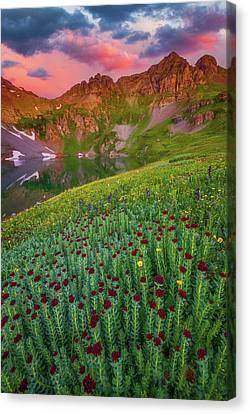 San Juan Sunrise Canvas Print by Darren White