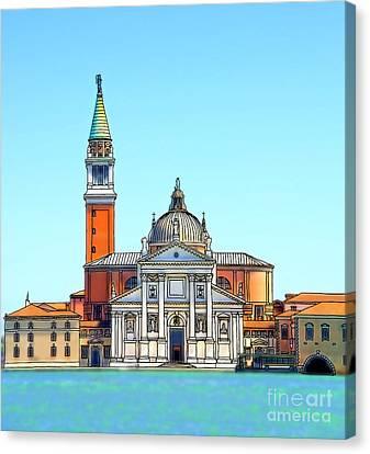 San Giorgio Maggiore, Venice Canvas Print