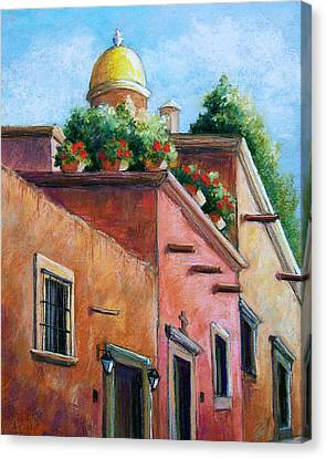 San Miguel De Allende Canvas Print by Candy Mayer