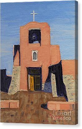 San Miguel Mission In Santa Fe Canvas Print