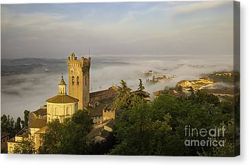 San Miniato Dawn Canvas Print by Brian Jannsen