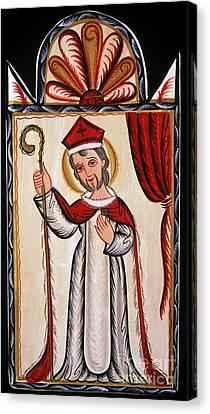 San Nicolas - St. Nicholas - Aosni Canvas Print by Br Arturo Olivas OFS