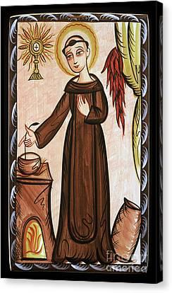 San Pascual Bailon - St. Pascal Baylon - Aopab Canvas Print