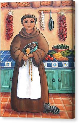 San Pascual In Brown Canvas Print