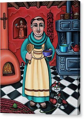 San Pascual Paschal Canvas Print by Victoria De Almeida