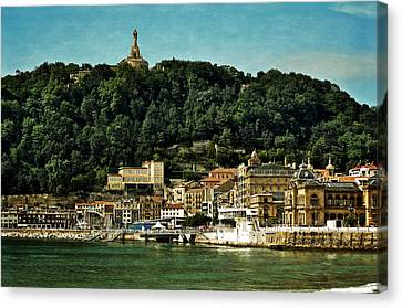 San Sebastian Spain Canvas Print