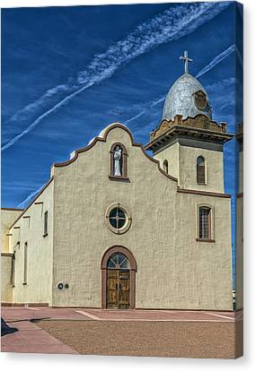 San Ysleta Mission Canvas Print by Mountain Dreams