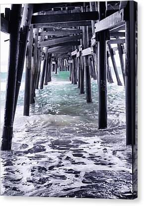 Sanclemente Pier Canvas Print by Rosanne Nitti