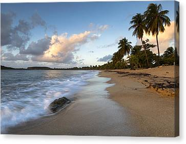 Canvas Print featuring the photograph Sand And Sea by Patrick Downey