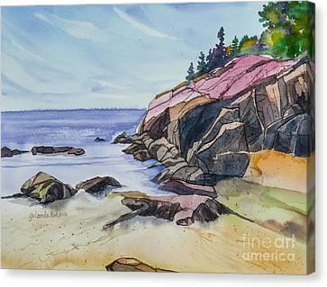 Sand Beach I Canvas Print by Yolanda Koh