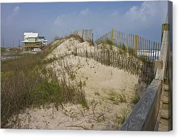 Sand Dunes II Canvas Print by Betsy Knapp