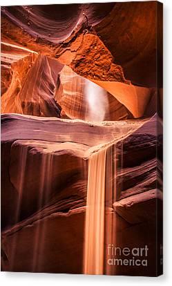 Sand Falls Vertical Canvas Print