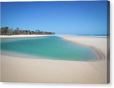 Sand Island Paradise Canvas Print