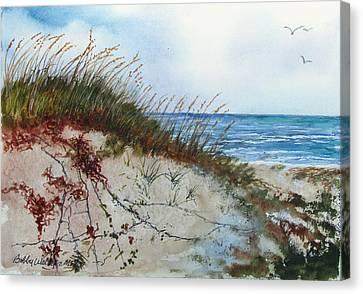 Sand Mount Canvas Print