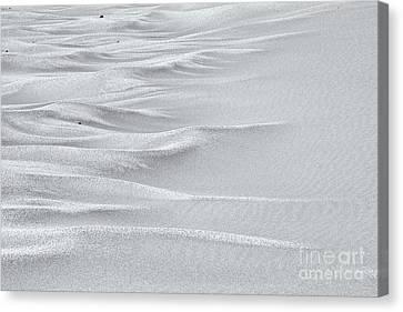 Sand Sea - High Key Canvas Print by Hideaki Sakurai